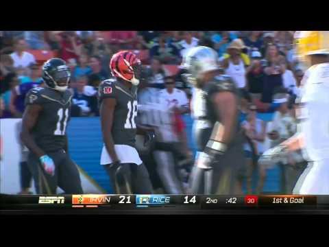 A.J. Green Leaps to Make HUGE Catch!   Rice vs. Irvin   NFL Pro Bowl 2016