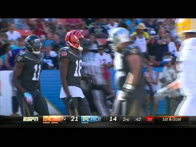 A.J. Green Leaps to Make HUGE Catch!   NFL Pro Bowl 2016