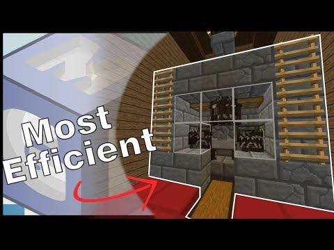 Most Efficient Steak/Cow Farm!!! | Minecraft Redstone Tutorial