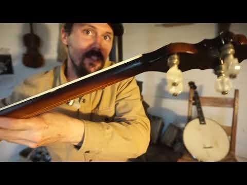 "1930s Gretsch ""Broadkaster"" Banjo!"