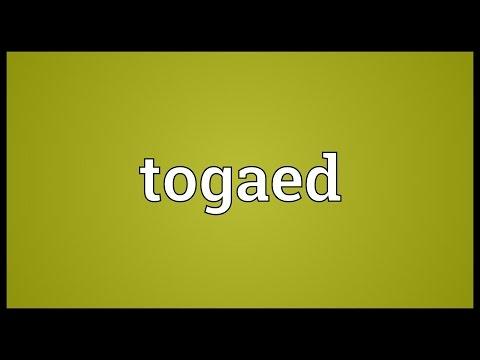 Header of togaed