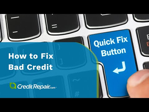 How do you fix bad credit? #CreditAcrossAmerica
