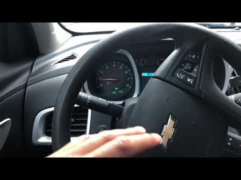 Chevrolet Equinox – How To Brighten In Dim The Instrument Panel