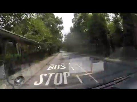 hong kong car ride @ country-side, fanling