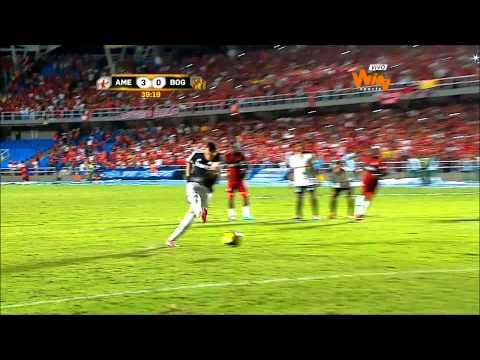 América de Cali 5 - 0 Bogotá FC - Torneo Postobón 2014 I - Fecha 5 - Win Sports