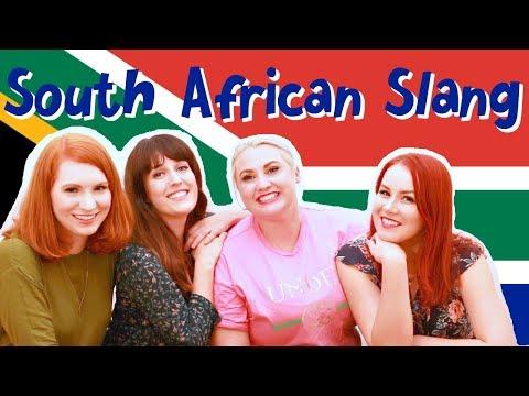 German Girls Try to speak Afrikaans PLUS South African Slang