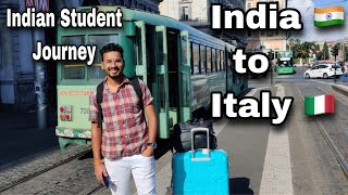 India 🇮🇳 to 🇮🇹Italy   Indian Student Journey   Dipanshu Chouhan