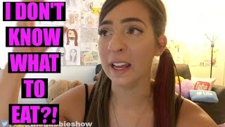 THE GABBIE SHOW CRIES ABOUT HER WEIGHT & FOOD | HELP
