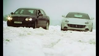 Тест-драйв: Bentley Flying Spur vs Ferrari FF - Автопарк - Интер