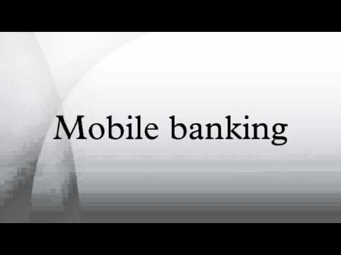 Mobile banking