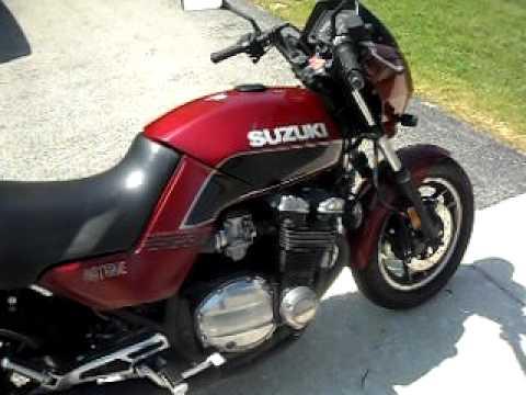1983 Suzuki GS750es - YouTube