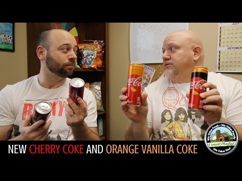 Cindy Scull Mornings - REVIEW: COKE's 1ST new flavoR in 10 yrs= Orange Vanilla