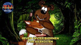 Reven snyter bjørnen for julekosten - Norske folkeeventyr
