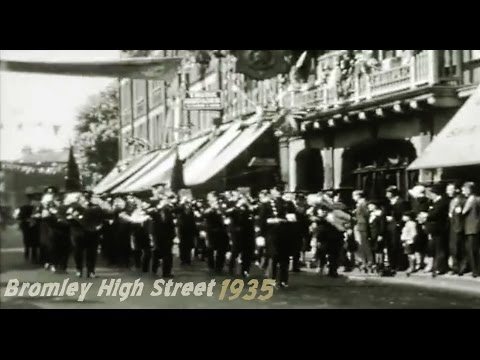 Bromley High Street 1935 King George V Jubilee BROMLEY HISTORY