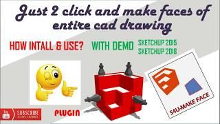 download make face plugin sketchup 2017