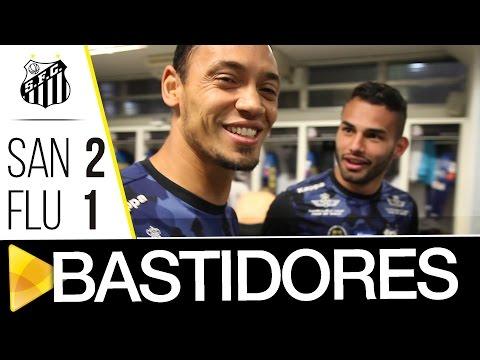 Santos 2 x 1 Fluminense | BASTIDORES | Brasileirão (05/10/16)