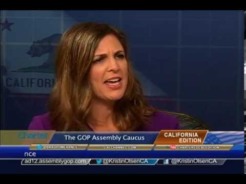 California Edition Interview with GOP Assembly Leader Kristin Olsen and GOP Senate Leader Bob Huff