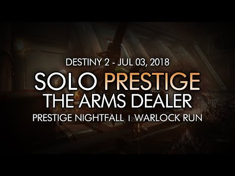 Destiny 2 Solo 100K Nightfall Guide: Pyramidion - Warlock