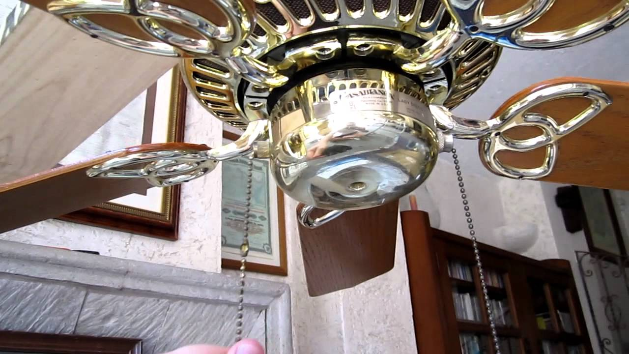 Casablanca Lady Delta Ceiling Fan Youtube