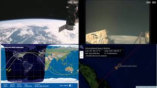 Passing Around Australia And New Zealand NASA/ESA ISS LIVE Space Station With Map - 570 - 2019-03-18