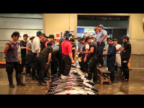Osaka Fish Market - Tuna Auction