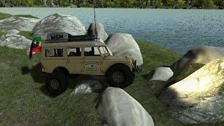 RC Simulation 2.0 - New Rock Crawler Physics - Skip's Swamp Map