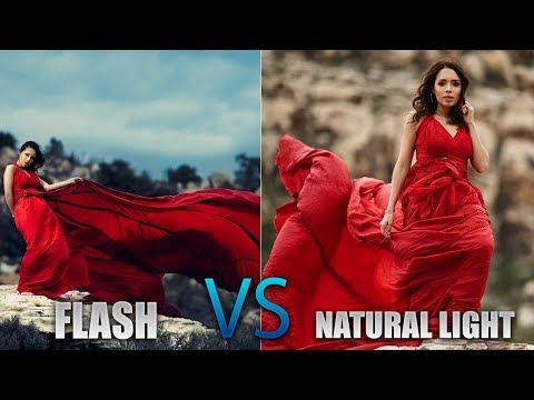 OFF CAMERA FLASH vs NATURAL LIGHT Photography Challenge ft. Miguel Quiles - 동영상