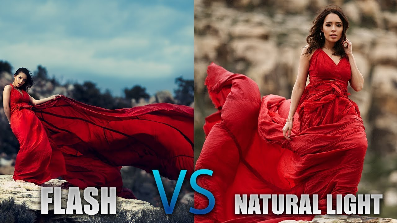 OFF CAMERA FLASH vs NATURAL LIGHT Photography Challenge ft  Miguel Quiles