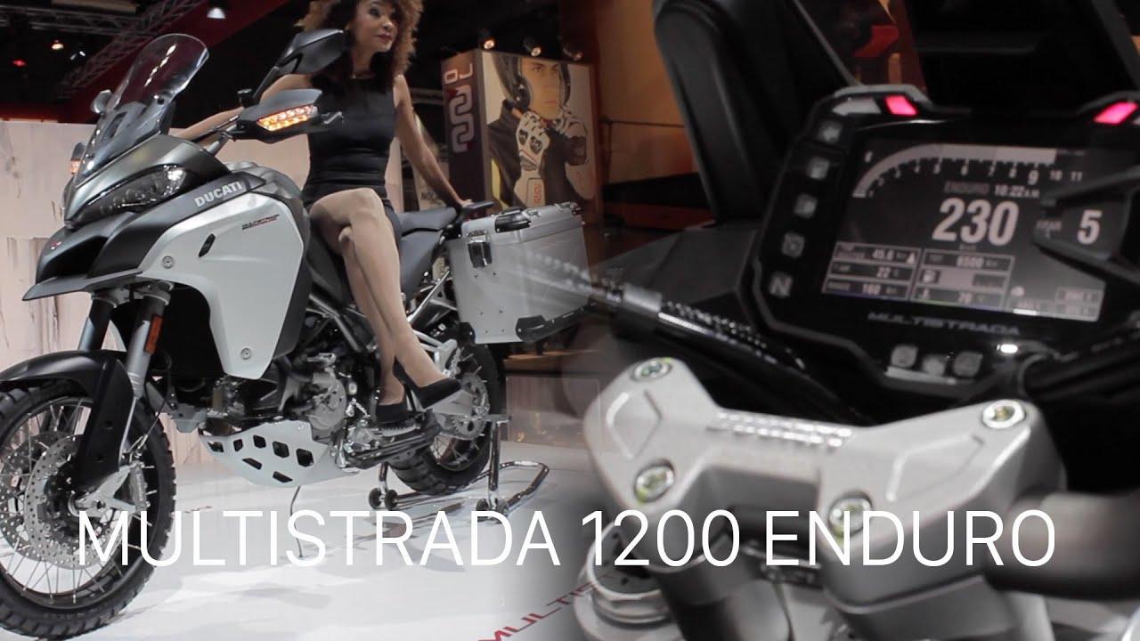 ducati multistrada 1200 enduro top speed simulated - youtube