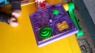 видео Развивающая игрушка лабиринт