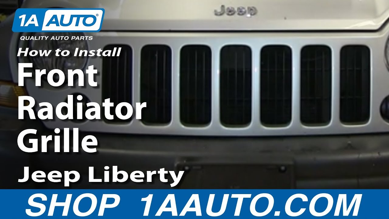 How To Install Replace Front Radiator Grille 200507 Jeep Liberty. How To Install Replace Front Radiator Grille 200507 Jeep Liberty. Jeep. 2005 Jeep Liberty Front Frame Diagram At Scoala.co