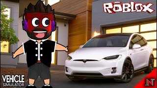 ROBLOX Indonesia #43 Vehicle Simulator | Buy a cool future car