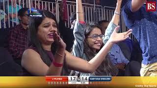 Pro Kabaddi 2019, Eliminator 2: U Mumba vs Haryana Steelers video highlights