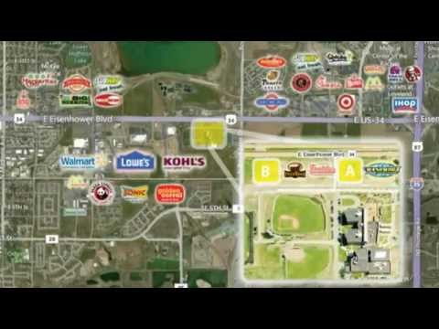Video Tour of Pads for Lease or Sale on US 34 in Loveland, CO