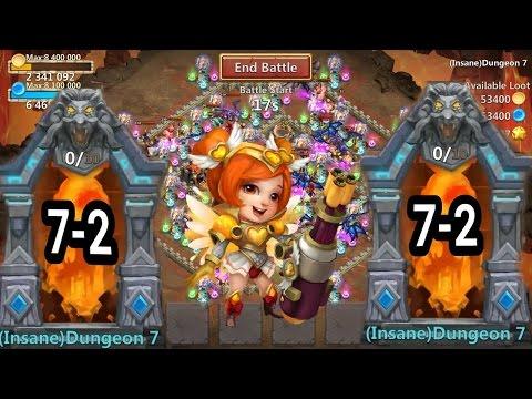 Castle Clash Insane Dungeon 7-2