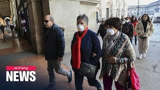 Number of coronavirus cases in Iran, Italy surges