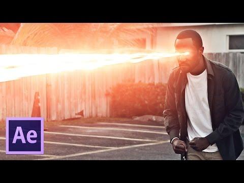Vision Laser de Superman - Adobe After Effects (Tutorial)