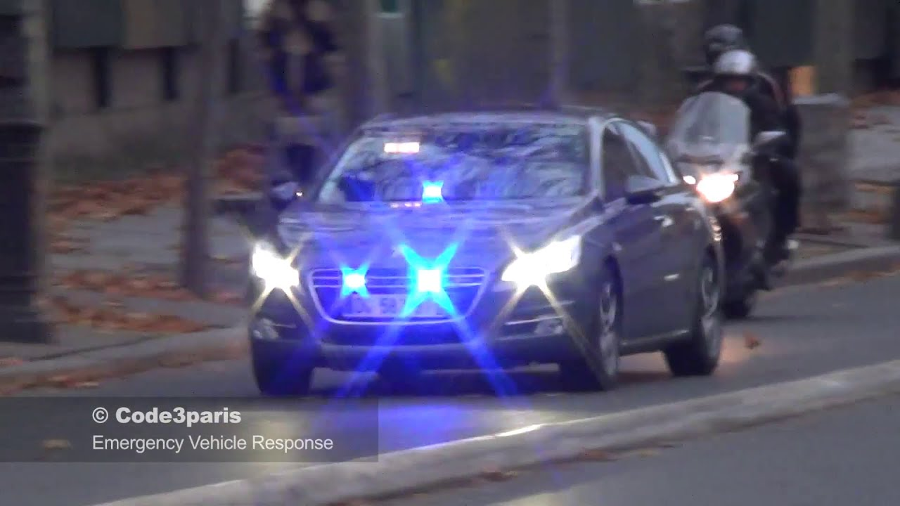 voiture de police banalis e 508 unmarked police car paris youtube. Black Bedroom Furniture Sets. Home Design Ideas