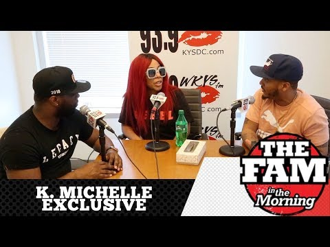 K. Michelle Bares All In An Emotional Interview With The Fam In The Morning