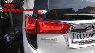 V849 Led Tail Lights Toyota Innova Crysta By Mxsmotosport