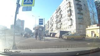 Смотреть видео ДТП Санкт-Петербург Искровский 31 из кабины Cruze онлайн