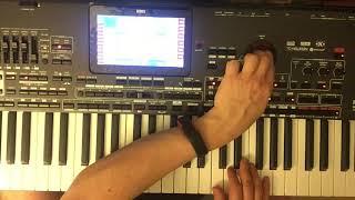 كيف نرافق المطرب موسيقيا بالعزف على الاورغ(الكيبورد)الدرس رقم 27 مع وليد المطعم