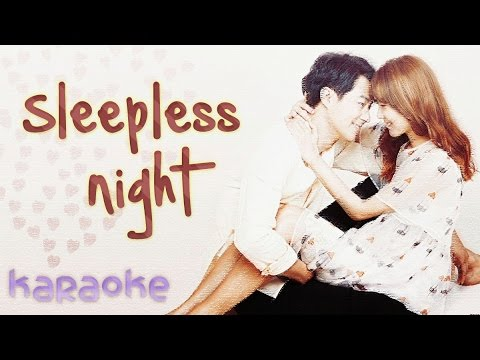 Sleepless Night - Crush ft. Punch [karaoke]
