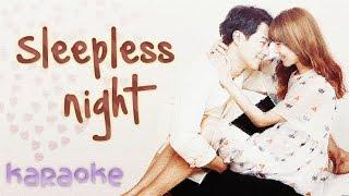 Sleepless Night - Crush ft. Punch [karaoke]