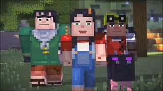 Minecraft Story Mode Female Playthrough Episode 1 The Order of the Stone Full Playthrough