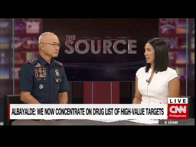 'The Source' speaks to PNP Chief Director-General Oscar Albayalde