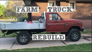 #105 - 1985 Ford f250 4x4 7.3 IDI ZF5 Rebuild (Before And After)