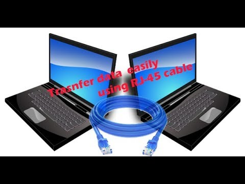 File Sharing Using RJ-45 Cable Or LAN Cable In Depth (HINDI)