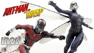 Iron Studios ANT-MAN e WASP 1/10 Review BR / DiegoHDM