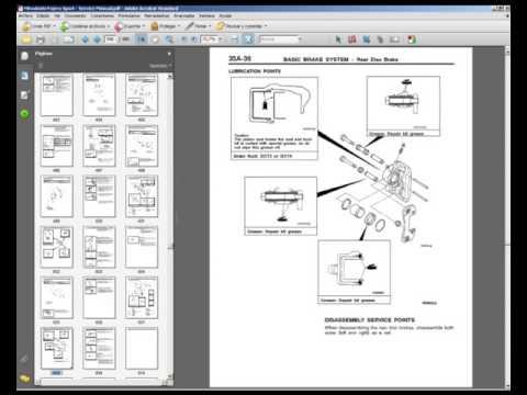 Mitsubishi Pajero Sport - Workshop, Service, Repair Manual